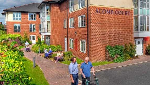 Acomb Court cover
