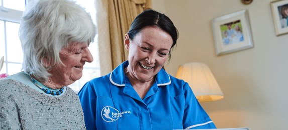 Bluebird Care (East Hertfordshire) cover