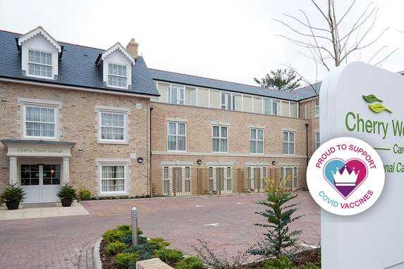 Cherry Wood Grange Care Home cover