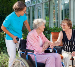 care homes in Wales